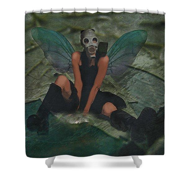 Urban Fairy Shower Curtain