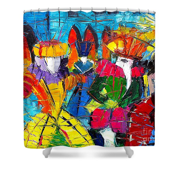 Urban Story - The Carnival 2 Shower Curtain