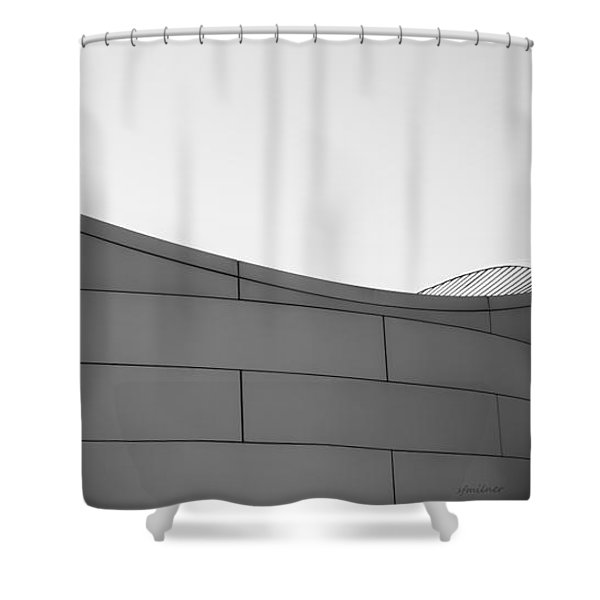Urban Wave - Abstract Shower Curtain