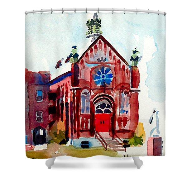 Ursuline II Sanctuary Shower Curtain