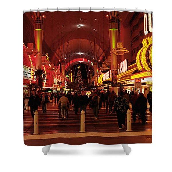 Usa, Nevada, Las Vegas, The Fremont Shower Curtain