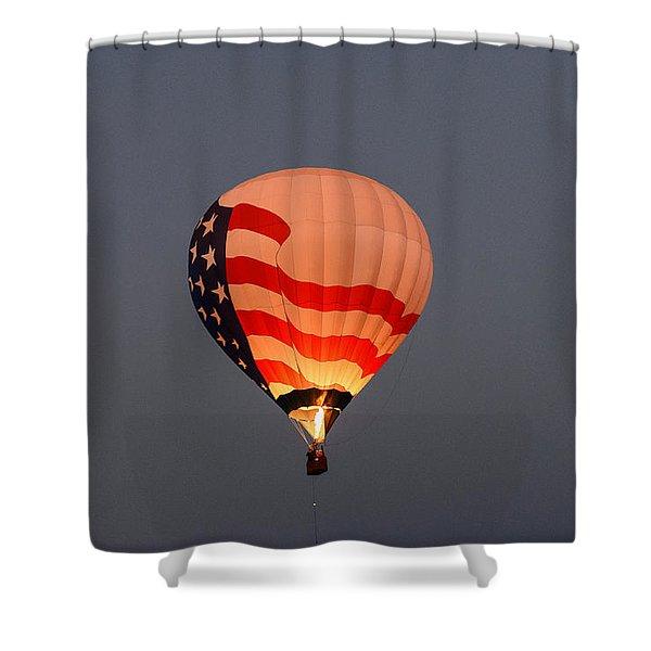 Usa Proud Shower Curtain