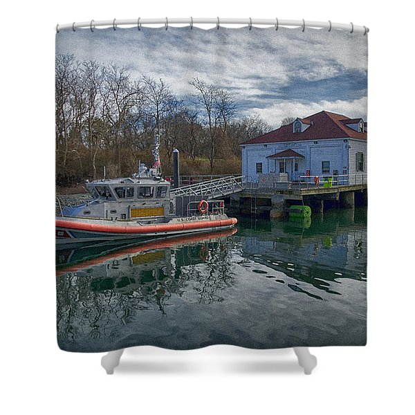 Usgs Castle Hill Station Shower Curtain