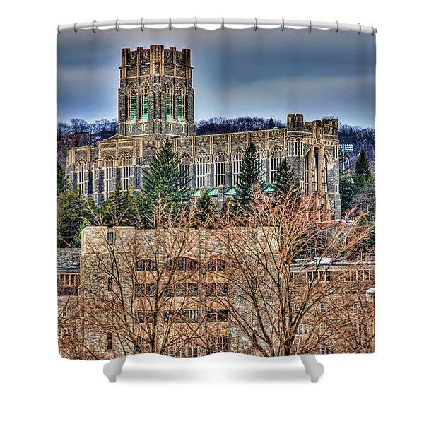 Usma Cadet Chapel Shower Curtain