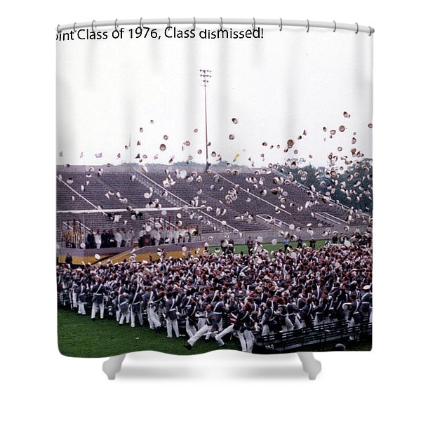 Usma Class Of 1976 Shower Curtain