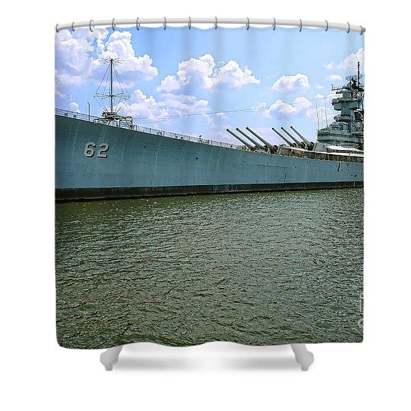 Uss New Jersey Shower Curtain