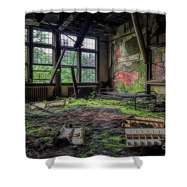 Vacant Shower Curtain