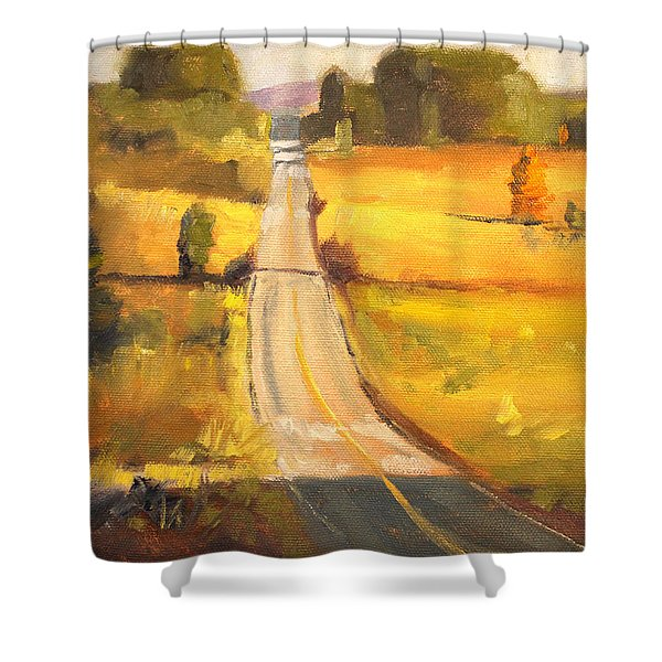 Valley Road Shower Curtain