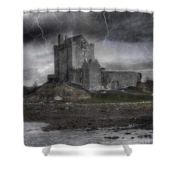 Vampire Castle Shower Curtain