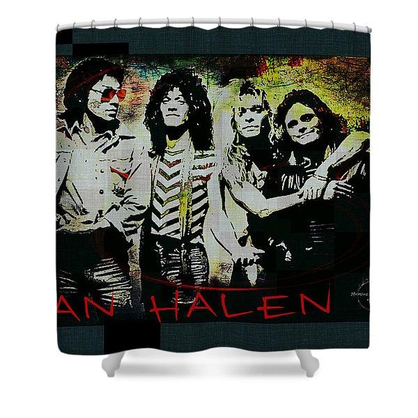 Van Halen - Ain't Talkin' 'bout Love Shower Curtain