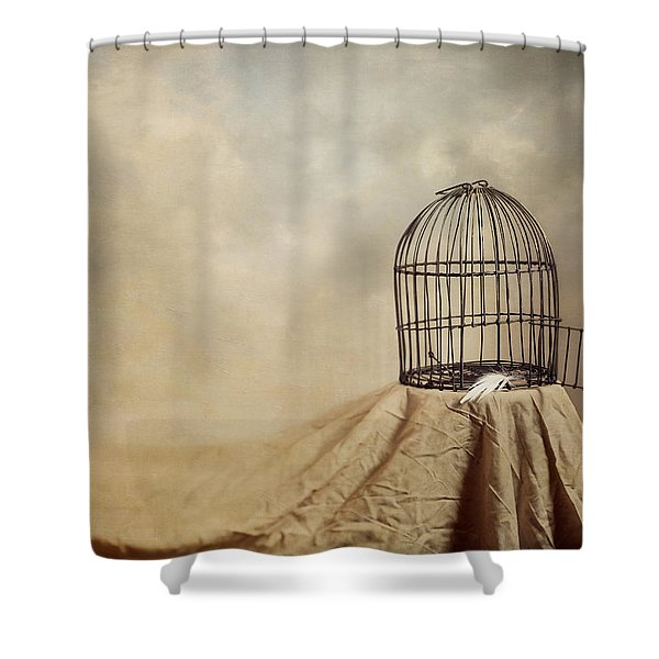 Vanishing Act Shower Curtain