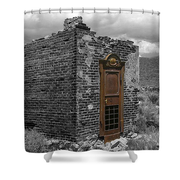 Vault Of Time Shower Curtain