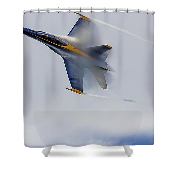 Veiled Angel Shower Curtain