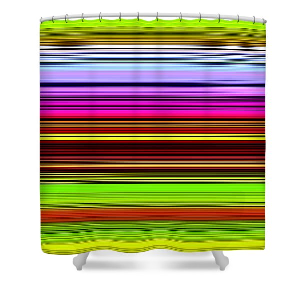 Venice Flower Abstract Shower Curtain