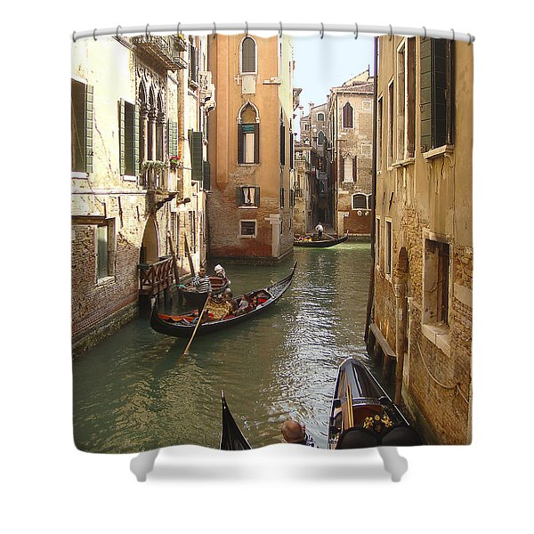 Venice Gondolas Shower Curtain