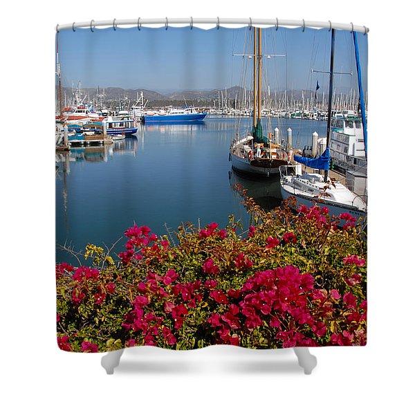 Ventura Harbor Shower Curtain