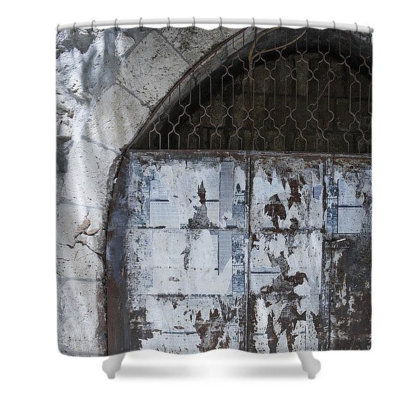 Very Old City Architecture No 3 Shower Curtain