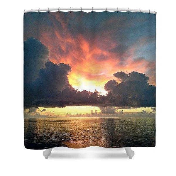 Vibrant Skies 2 Shower Curtain