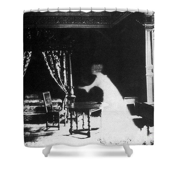 Victorian Ghost 19th Century Shower Curtain