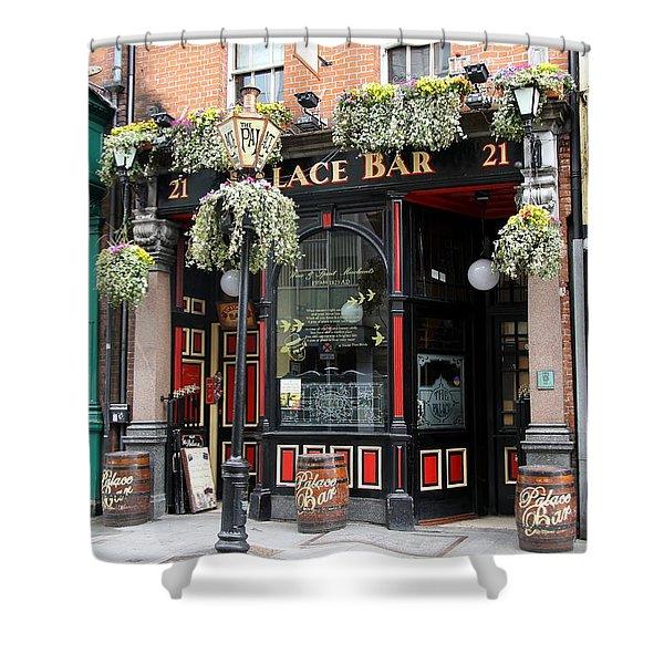 Victorian Pub - Palace Bar - Dublin Shower Curtain