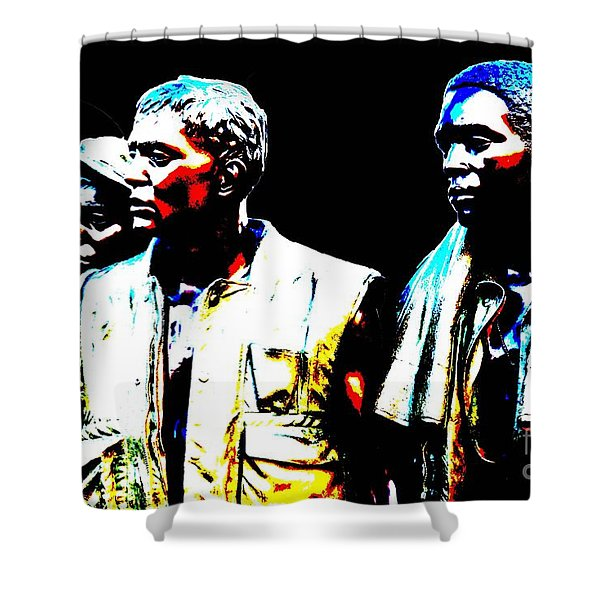 Vietnam Brothers Shower Curtain