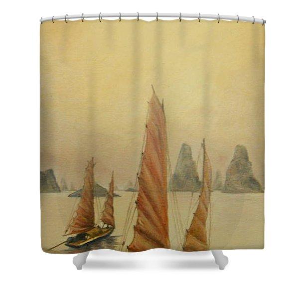 Vietnam Shower Curtain
