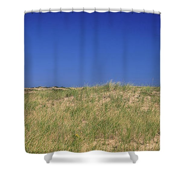 View Of A Lighthouse, Race Point Light Shower Curtain