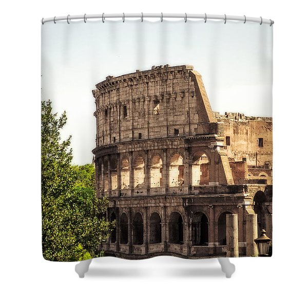 View Of Colosseum Shower Curtain