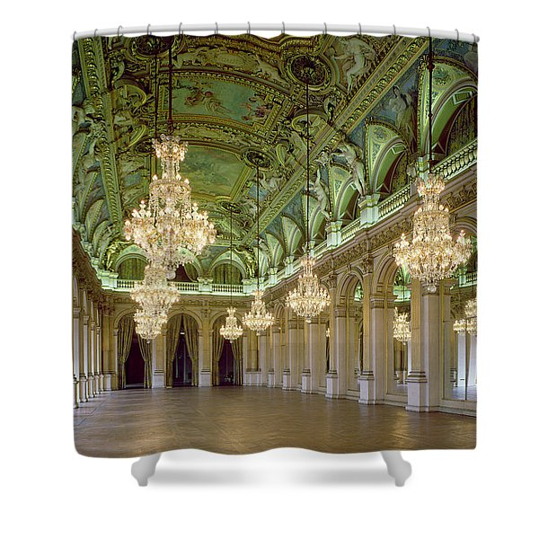 View Of The Grande Salle Des Fetes Shower Curtain