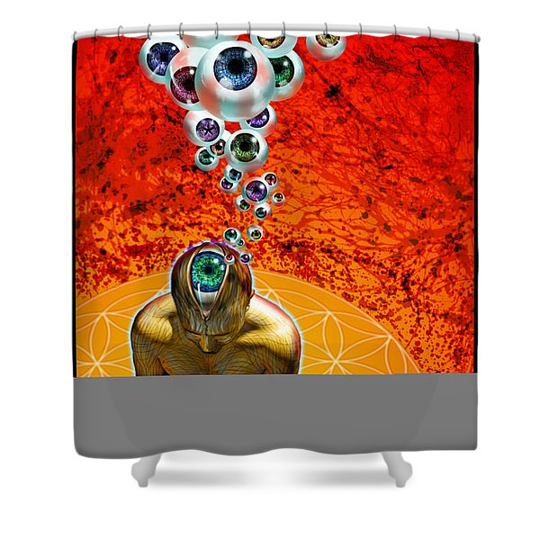 Viewing Shower Curtain