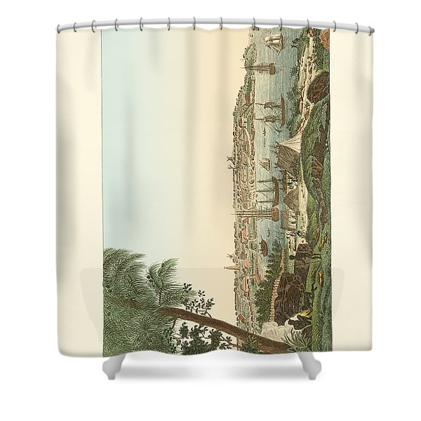 Views Of The City Of Sydney Shower Curtain
