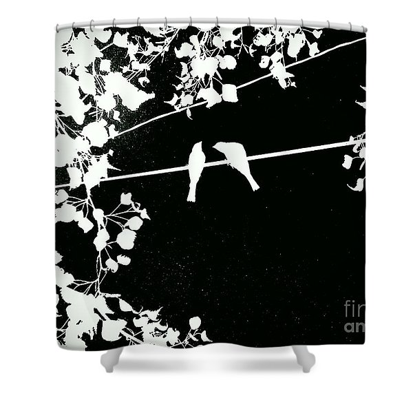 Vignette Shower Curtain