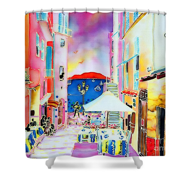 Villefranche Shower Curtain