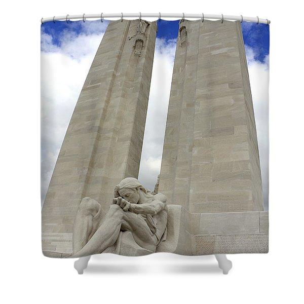Vimy Ridge Memorial France Shower Curtain