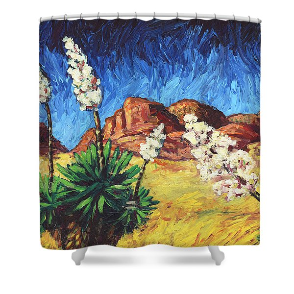 Vincent In Arizona Shower Curtain