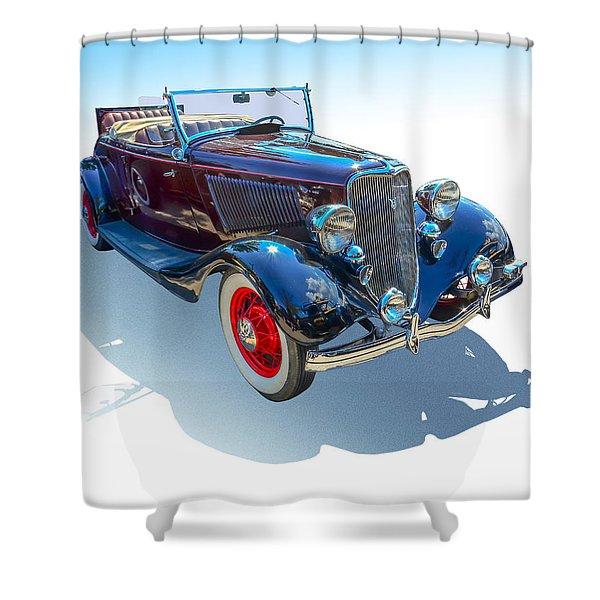 Vintage Convertible Shower Curtain