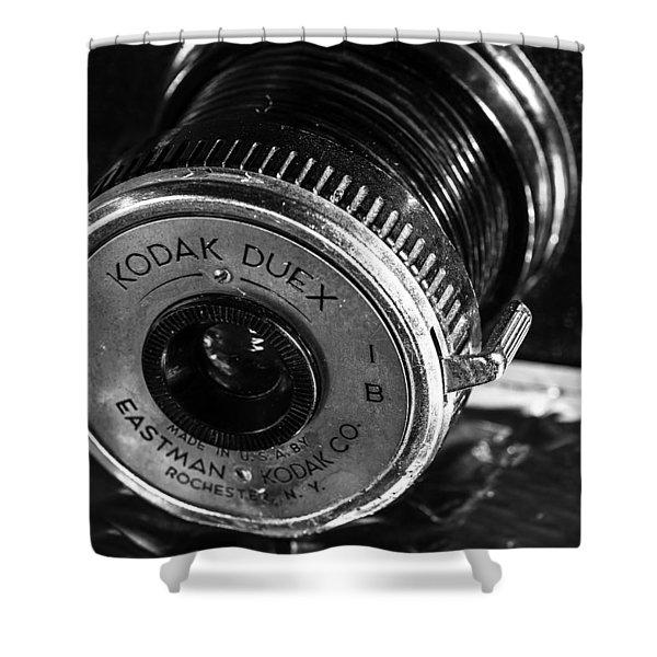 Vintage Kodak Duex Camera Shower Curtain