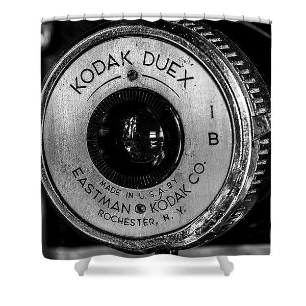 Vintage Kodak Duex Detail Shower Curtain