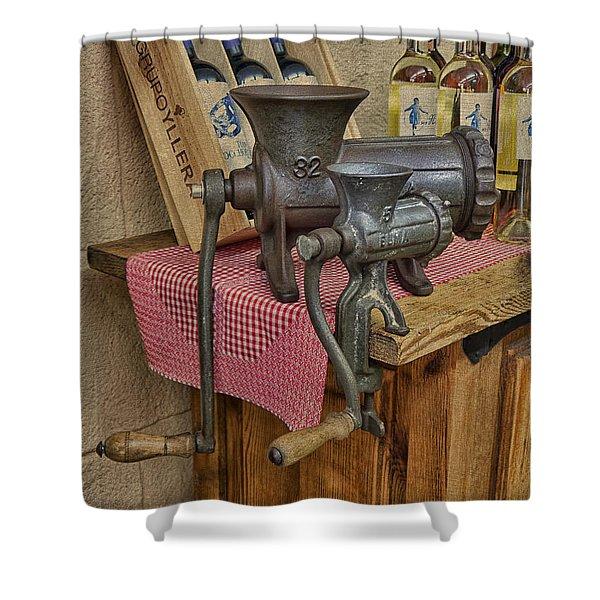 Vintage Mincers Shower Curtain