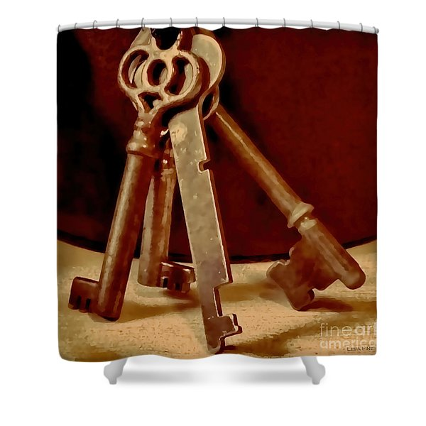 Vintage Skeleton Keys I Shower Curtain