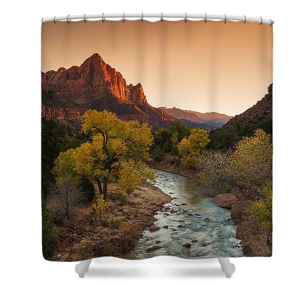 Virgin River Shower Curtain