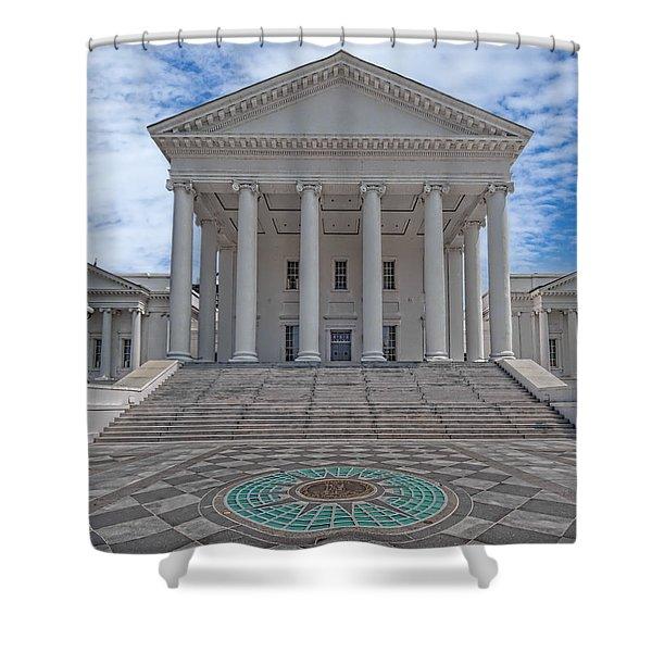 Virginia Capitol Shower Curtain