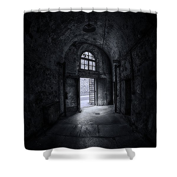 Visions From The Dark Side Shower Curtain