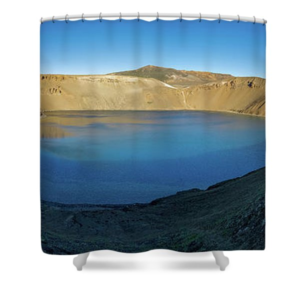 Viti, A Huge Explosion Crater, Northern Shower Curtain