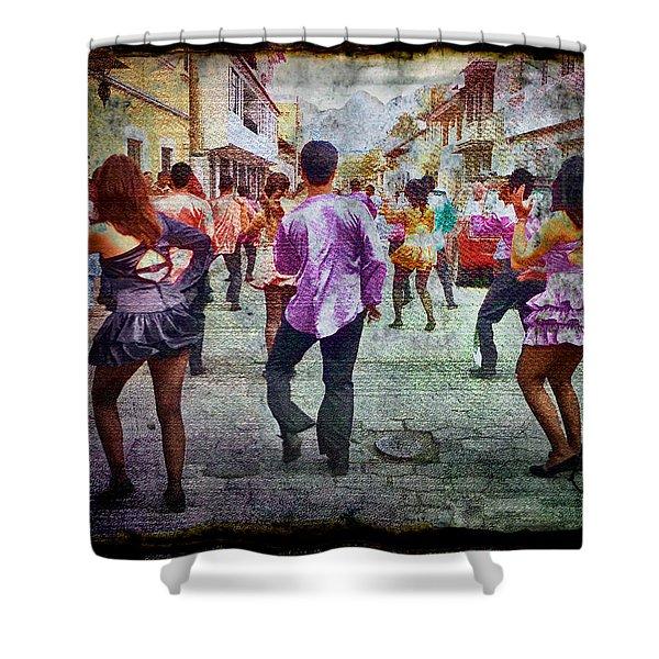 Viva La Fiesta Shower Curtain
