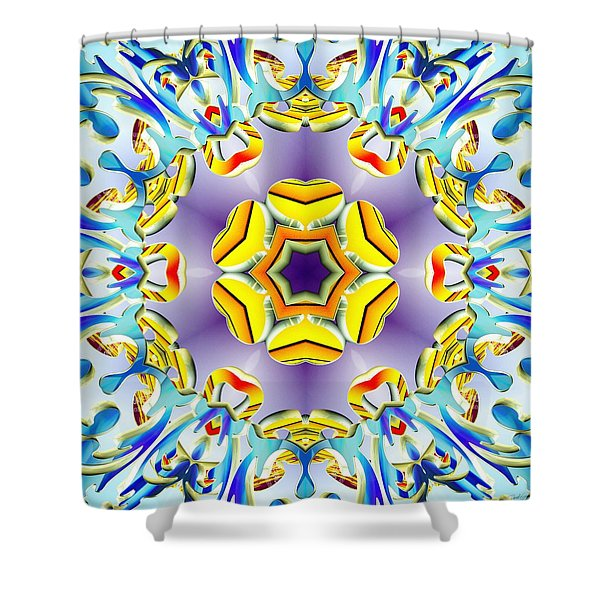 Vivid Expansion Shower Curtain
