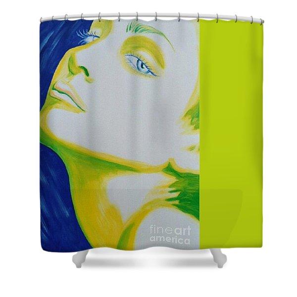 Madonna Vogue Shower Curtain