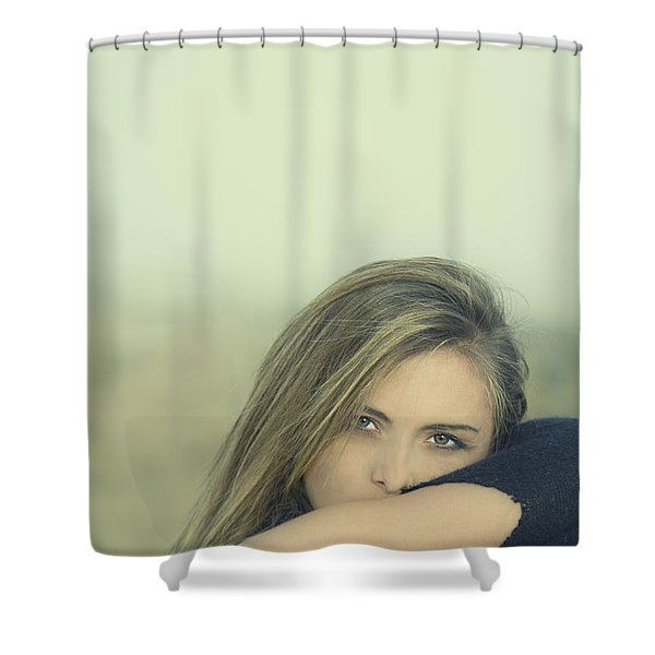 Voice Of My Silence Shower Curtain