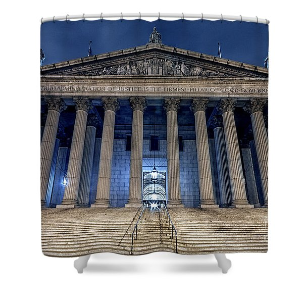 Voice Of Shadows Shower Curtain