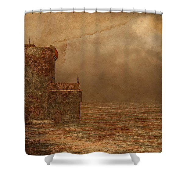 Void - Life After Radiation Shower Curtain